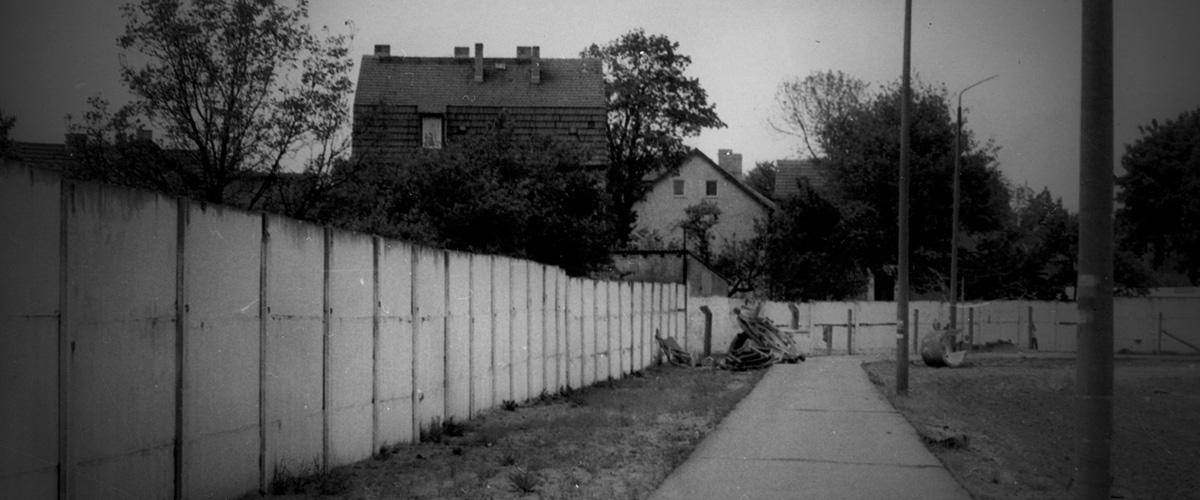 Berliner Mauer von Hohen Neuendorfer Seite